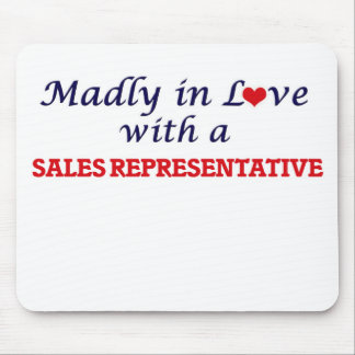 Madly in love with a Sales Representative Mouse Pad