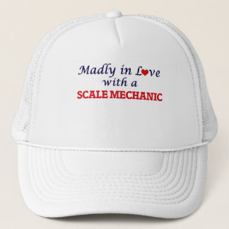 Madly in love with a Scale Mechanic Trucker Hat