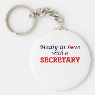 Madly in love with a Secretary Keychain