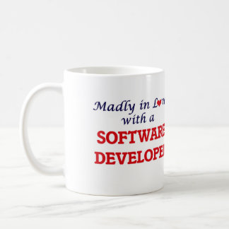 Madly in love with a Software Developer Coffee Mug