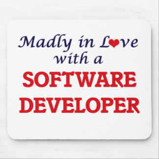 Madly in love with a Software Developer Mouse Pad