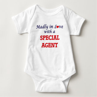 Madly in love with a Special Agent Baby Bodysuit