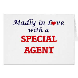 Madly in love with a Special Agent Card