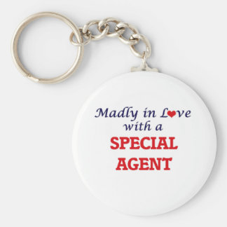 Madly in love with a Special Agent Keychain