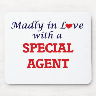 Madly in love with a Special Agent Mouse Pad