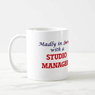 Madly in love with a Studio Manager Coffee Mug