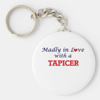 Madly in love with a Tapicer Keychain