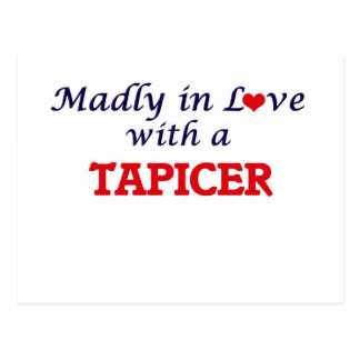 Madly in love with a Tapicer Postcard