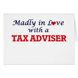 Madly in love with a Tax Adviser Card