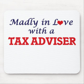 Madly in love with a Tax Adviser Mouse Pad