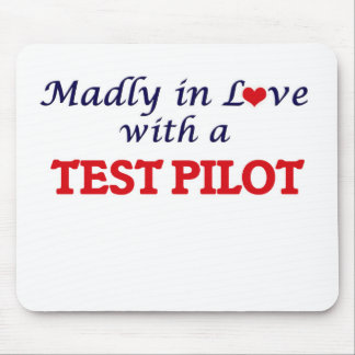 Madly in love with a Test Pilot Mouse Pad