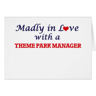 Madly in love with a Theme Park Manager Card