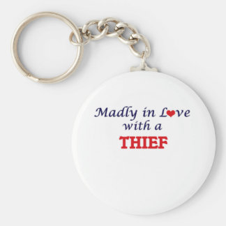 Madly in love with a Thief Keychain