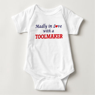 Madly in love with a Toolmaker Baby Bodysuit