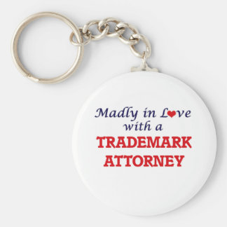 Madly in love with a Trademark Attorney Keychain