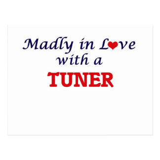 Madly in love with a Tuner Postcard