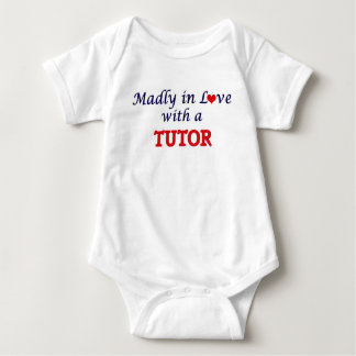 Madly in love with a Tutor Baby Bodysuit