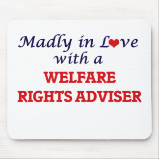 Madly in love with a Welfare Rights Adviser Mouse Pad
