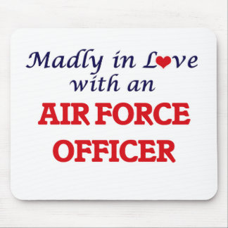 Madly in love with an Air Force Officer Mouse Pad