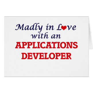 Madly in love with an Applications Developer Card