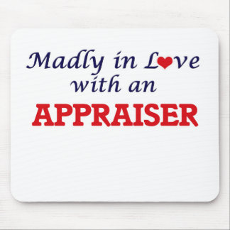 Madly in love with an Appraiser Mouse Pad