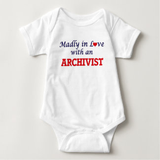 Madly in love with an Archivist Baby Bodysuit