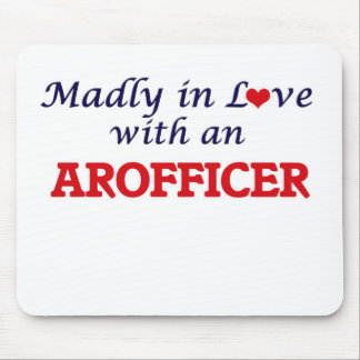 Madly in love with an Arofficer Mouse Pad