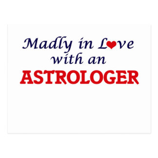 Madly in love with an Astrologer Postcard