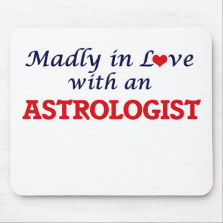 Madly in love with an Astrologist Mouse Pad