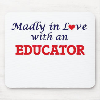 Madly in love with an Educator Mouse Pad