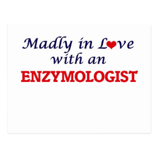 Madly in love with an Enzymologist Postcard
