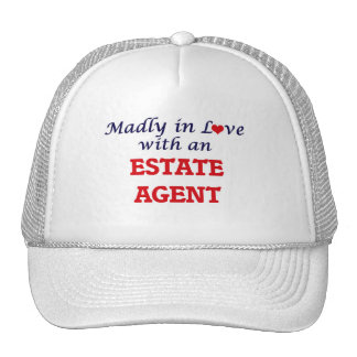 Madly in love with an Estate Agent Trucker Hat