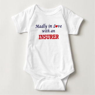 Madly in love with an Insurer Baby Bodysuit