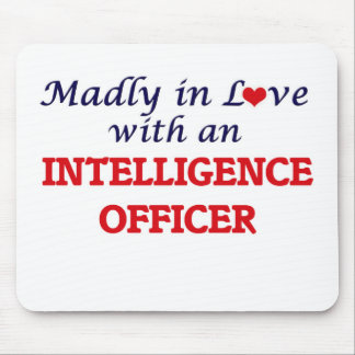 Madly in love with an Intelligence Officer Mouse Pad