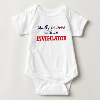 Madly in love with an Invigilator Baby Bodysuit