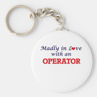 Madly in love with an Operator Keychain