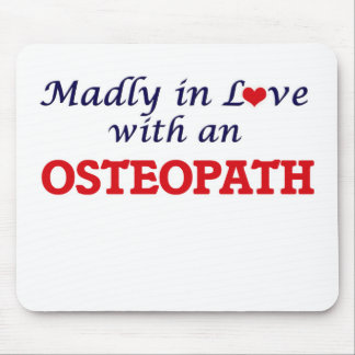 Madly in love with an Osteopath Mouse Pad