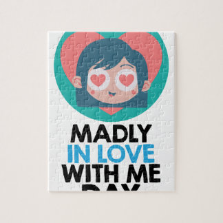 Madly In Love With Me Day - Thirteenth February Jigsaw Puzzle