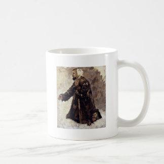 Madman On My Knees By Surikow Wassilij Iwanowitsch Classic White Coffee Mug