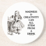 Madness & Creativity Can All Stem From A Drink Coasters