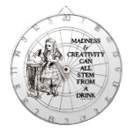 Madness & Creativity Can All Stem From A Drink Dartboards