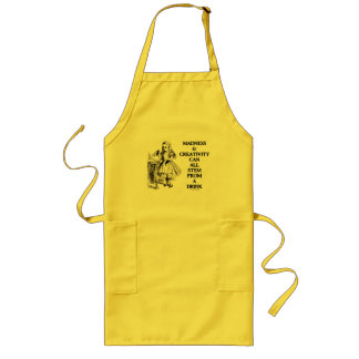 Madness & Creativity Can All Stem From A Drink Long Apron