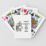 Madness & Creativity Can All Stem From A Drink Poker Cards