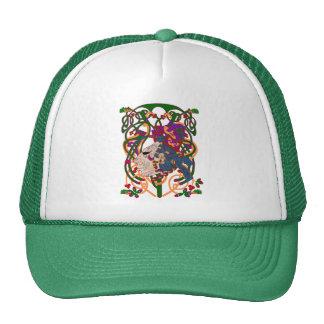 Madoc el navegador maya gorros bordados
