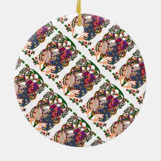 Madoc the Mayan Navigator Christmas Ornaments