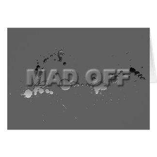 MADOFF CARD