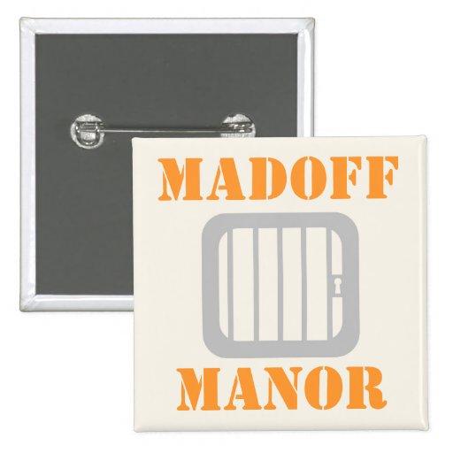 Madoff Manor 2 Inch Square Button