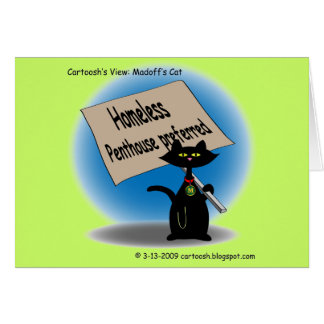 Madoff's Cat Card