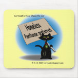 Madoff's Cat Mouse Pad