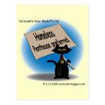Madoff's Cat Postcard